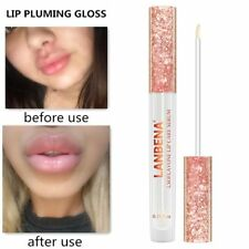 Plumper Lip Pump Volume Enlarger Liquid Lipstick Enhancer Pout Fuller Suction HK