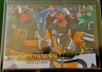 2019-20 Kris Letang Upper Deck UD Canvas #C46 Pittsburgh Penguins