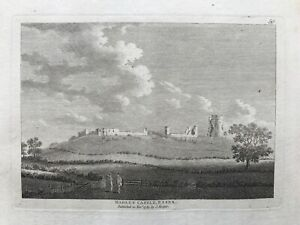 1783 Antique Print; Hadleigh Castle, Essex after Grose