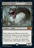 MTG Massacre Wurm Core Set 2021 MYTHIC RARE Magic the Gathering NM/M SKU#337