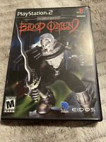 Blood Omen 2 (Sony PlayStation 2, 2002) No Manual Fully Tested PS2