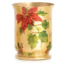 Yankee Candle Christmas Flower Hurricane Vase