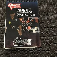 Incident Command System Ics Pocket Handbook Firefighter