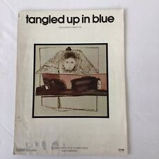 BOB DYLAN TANGLED UP IN BLUE SHEET MUSIC PIANO VOCAL GUITAR CHORDS 1975 RARE