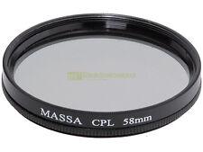 58mm. filtro polarizzatore circolare Massa.