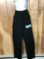 WOMEN'S LEE RELAXED FIT BLACK PANTS-SIZE: 16W