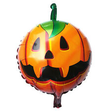 NEW 2015 Halloween Pumpkin Head PartyHome Decorations Props Foil Balloons Cheap