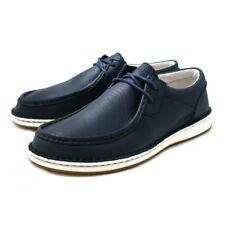 Birkenstock Pasadena Moc Toe Shoes Navy EU 42/Men's 9-9.5/Women's 11-11.5