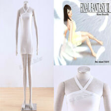 Final Fantasy VIII 8 Rinoa Cosplay Costume white dress