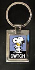 Cwtch Snoopy - Metal keyring