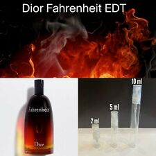 Dior Fahrenheit EDT - 2 mL 5 mL 10 mL Samples/Tester