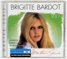 Brigette Bardot ◉ Master Série, Vol. 1 ◉ (CD) (Sealed) (SBM) ◉ Made in France