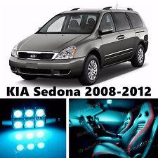 13pcs LED ICE Blue Light Interior Package Kit for KIA Sedona 2008-2012