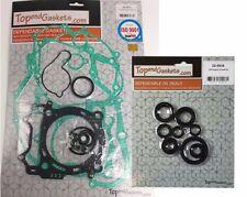 Yamaha YZ450F WR450F Complete Engine Gasket Kit & Oil Seal Set  PN020014/220034