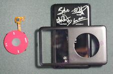 Black iPod U2 replacement kit for iPod classic 80GB 120GB 7th 160GB Thin case