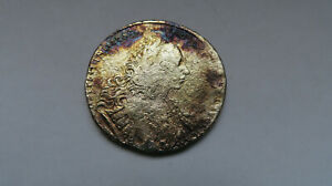 Russland--1 Rubel  1729  Peter II. ORIGINAL Silber
