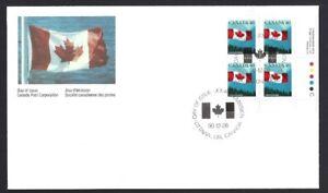 Canada   # 1169 LRpb    CANADIAN FLAG     Brand New 1990 Unaddressed Issue