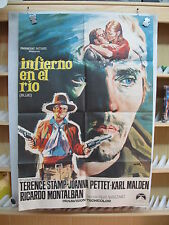 2305 INFIERNO EN EL RIO Terence Stamp - Joanna Pettet