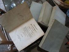 TRATTATO DI CHIMICA ELEMENTARE 5 VOL TEORICA PRATICA L.G.THENARD G.PIATTI 1827