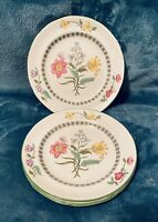 "4 - Spode Summer Palace 6"" Bread & Butter Plates Dessert Canapé Appetizer EXC"