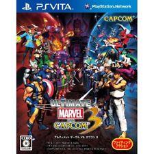 Used PS Vita Ultimate Marvel vs. Capcom 3 Japan Import
