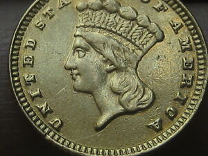 1883 $1 Gold Liberty Head One Dollar Coin- Very Rare Date
