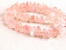 50 Pieces Strand Natural Rose Quarts Gemstone Uneven Shape Pink Rough 6-8 MM
