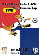 06.01.1998 HT 1. FC Magdeburg, 1. FC Wernigerode, Burger BC, MSV 90 Preußen, ...