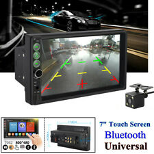 "7"" Touch Screen GPS Bluetooth Universal Car Radio Stereo Audio Multimedia Player"