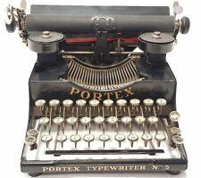►Antigua maquina de escribir PORTEX 5 circa 1920 rare  TYPEWRITER►
