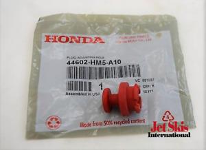Honda 44602-HM5-A10 Brake Adjusting Hole Plug Front Wheel