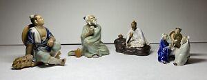 Mudmen , Chinese Figurines, Chinese Mud Man, Chinese Clay Pottery