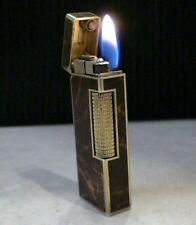 Briquet Ancien @ DUNHILL Rollagas Laque @ Lighter Feuerzeug Accendino