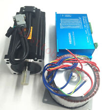 12NM Nema34 DSP Closed Loop Stepper Motor Drive Power Supply AC60V CNC Engraving