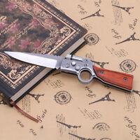 76| couteau pliant de chasse-couteau-chasse-couteau tactique-survie-armée-chasse