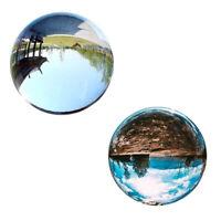 Bola de Cristal Transparente Bola de Cristal Esfera Curativa Accesorios de F 2J2