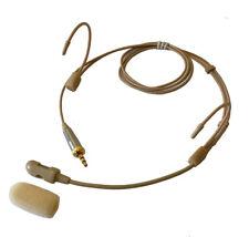 Headset Mic Headworn Microphone Double earhook for Sennheiser Wireless