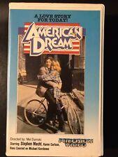 American Dream Ex-Rental Vintage Big Box VHS Tape English dutch subs