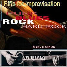 CD basi PLAY A LONG ROCK - play along - BACKING TRACK - NEW