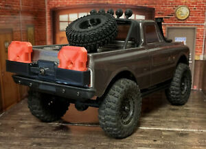 Gas Cans with mount For Axial SCX24 Chevy C10 Rock Crawler