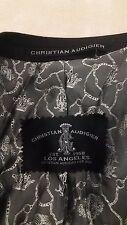 Christian Audigier Super 120's Wool Blend Sport Coat 44R