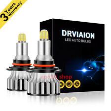 Mini 8-Side 9005 LED Headlight Kits Fog Light CSP Bulbs 1100W 6000K Replacement