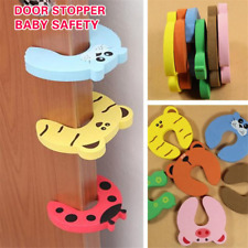 Baby Kids Safety Protect Anti Guard Lock Clip Animal Safe Card Door Stopper