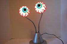 Double Bloodshot Eyeball Lamp Vivid EKG