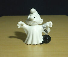 Smurfs Ghost Halloween Figure Vintage Smurf Toy Monster Figurine Peyo Lot 20542