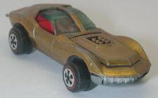 Topper Johnny Lightning Gold Custom Mako Shark oc8977