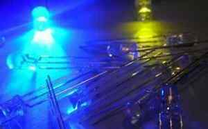 50pcs,5mm Bi-Polar Common Cathode Green/Blue Led,GB5L ay