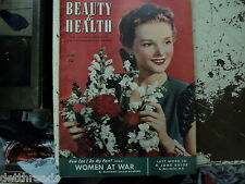 BEAUTY & HEALTH - June 1942 - GERM WARFARE / WOMEN AT WAR
