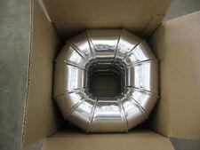 DE904 - One Dozen Deflecto 90 Degrees 4inch Aluminum Elbows - DE904; N1