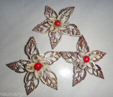 1pc Natural Seashell Brooch Flower